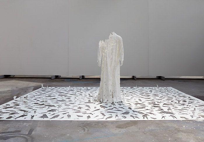 Transparent god, Peter Callesen, 2009