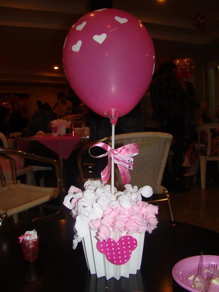Balão de látex de 9 polegadas com corações. Créditos: Balões: Balão Cultura  Decoração: Fabiana Cavallini www.boxbalao.com