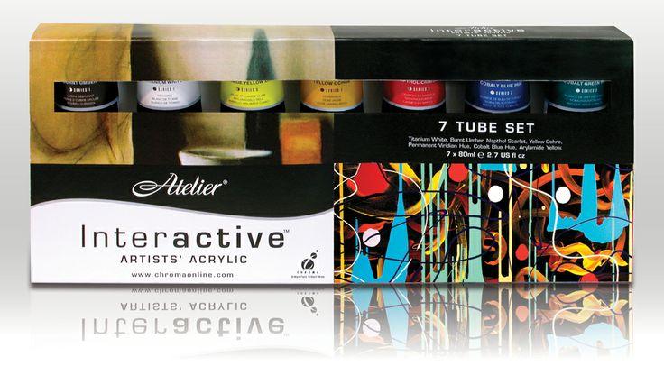 Atelier Interactive 7 Tube Set