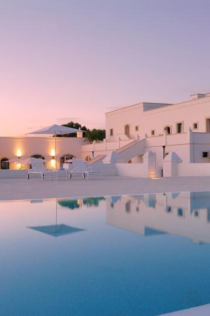 The Masseria Bagnara, Lizzano is a luxury hotel in Puglia, Italy http://www.mediteranique.com/hotels-italy/puglia/masseria-bagnara/