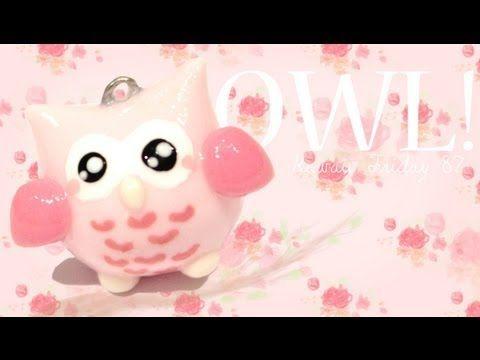 cette vidéo est un tutoriel d'un hiboux kawaii par cupofcakeTV aller voir sa chaine et les kawaii friday