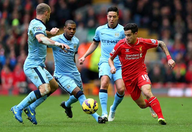 March 1, 2015, Manchester City are beaten 2-1 at Anfield, with Phillipe Coutinho In sparkling form.