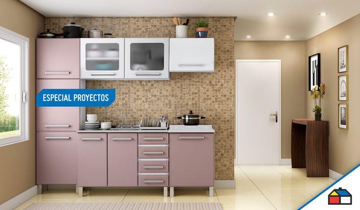 ¿Qué tal una cocina como esta? Descubre todo el diseño en nuestro #EspecialProyectos