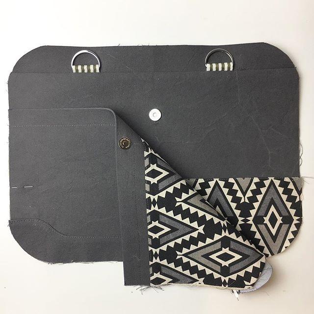 *Werbung* Neues Taschenprojekt in Arbeit😀. Zum ersten Mal ...