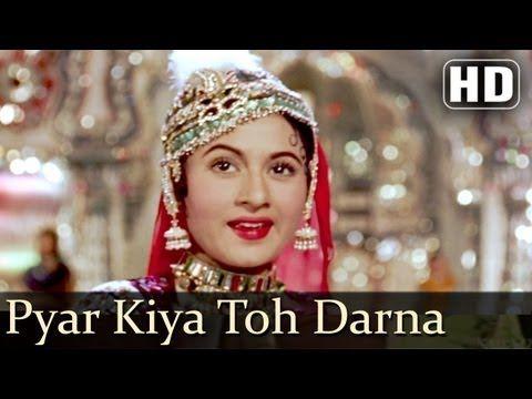 ▶ Pyar Kiya To Darna Kya (Mughal-E-Azam, 1960)