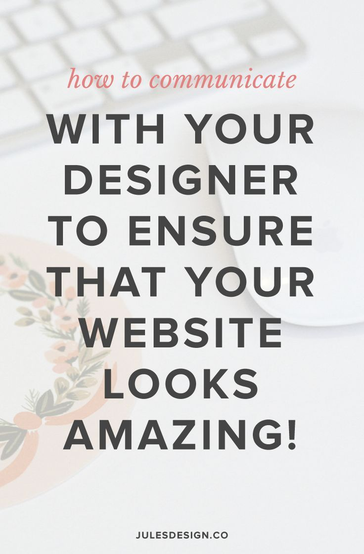 I get it! The website design process can seem a little intimidating, from the outside looking in. But, it seriously, shouldn't be at all! I want to show you how easy the process is to follow and also, go over a few things that tend to slow the design process down. That way, you know what they are upfront and can avoid them when your project starts. Here are my tips for working with a designer on your custom website design.