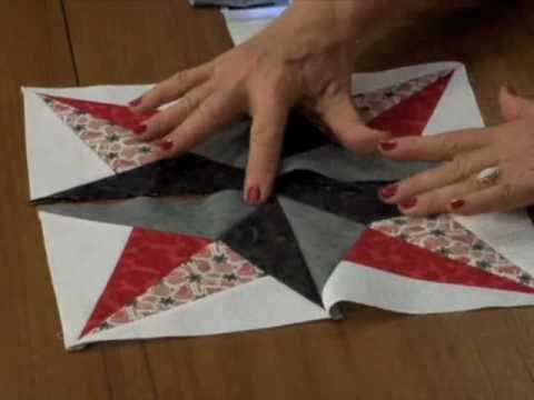 How to Create the GO! Blazing Star Block by Eleanor Burns - YouTube