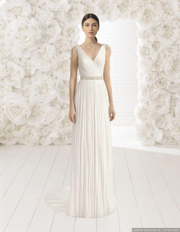 Vestidos de novia estilo griego 2019