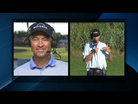 """Bones"" Talks #DL3 and Ryder Cup During Round 2 Of The 2015 RSM Classic. -PGA"