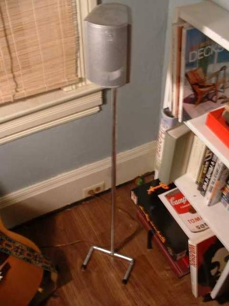 Copper pipe DIY speaker stands