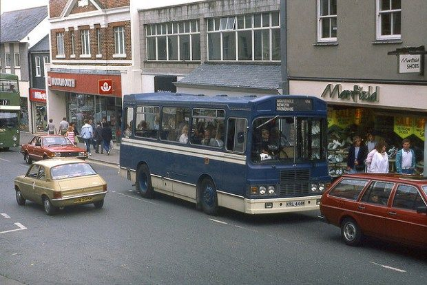 Penzance Woolworths 1980s