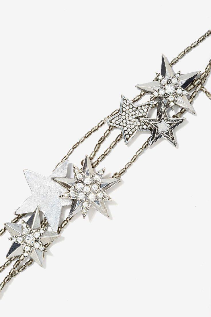 Stars Above Metallic Headband   Shop Accessories at Nasty Gal