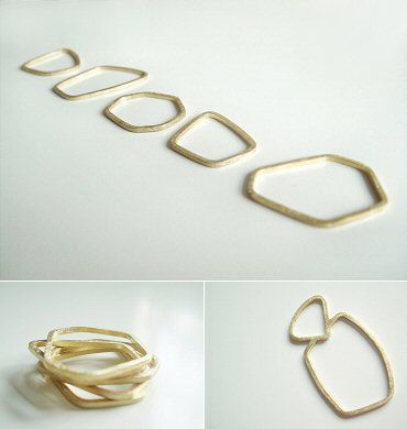 love these by Louise Walker...The Carrotbox modern jewellery blog and shop — obsessed with rings