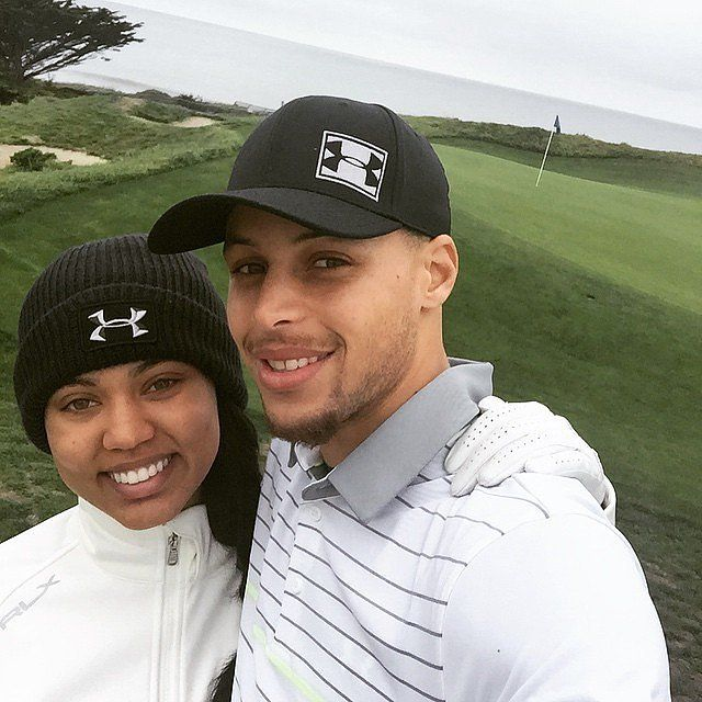 Cute Pictures of Stephen Curry and His Wife, Ayesha | POPSUGAR Celebrity Photo 26