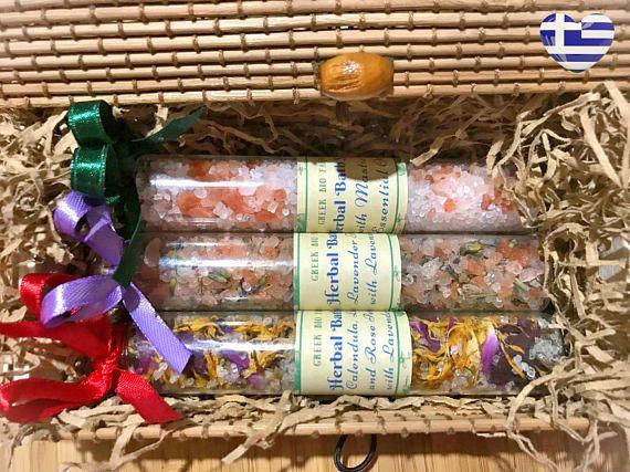 Spa Gift Set  Bath Salts Gift Set  Herbal Bath Salts  Spa #weddingfavors #bridesmaid  #bridesmaidgift  #wedding #weddingideas  #weddinginspiration  #weddinginspiration #bridalshowerfavors  #bathsalts #spabath #spabathroom #bathgifts