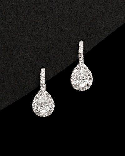 These diamond  earrings are beautiful