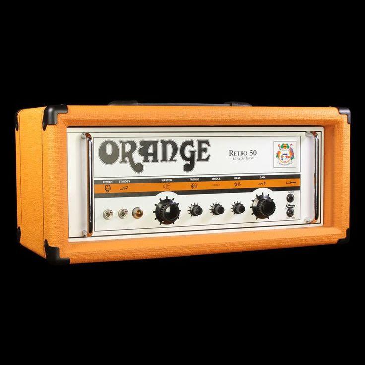 Used Orange Custom Shop Retro 50 Handwired Guitar Amplifier Head