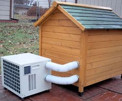 Dog House Heater & Air Conditioner $549.00