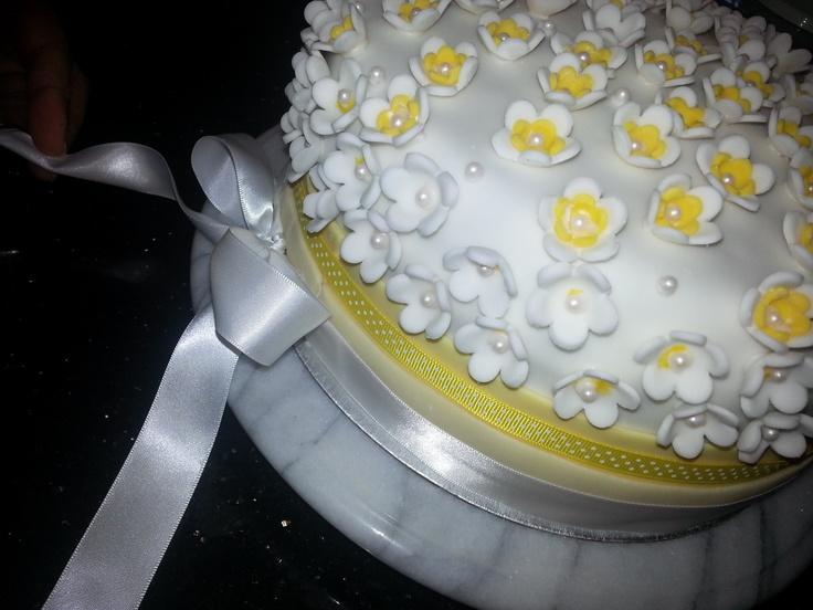 Making of - lemon vintage spring cake