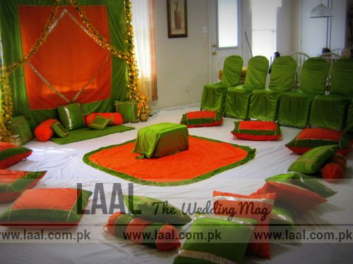 Mehndi Flower Arrangements : Best sitting arrangements for mehndi images