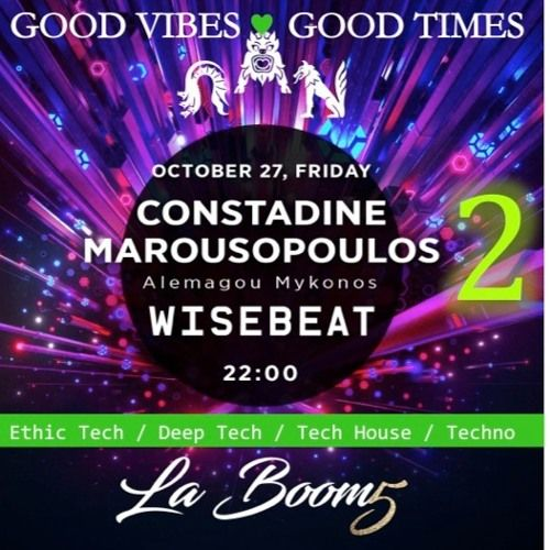 La Boom B2B w PAN 20171027 v2 @ Wisebeat GVGT by Wisebeat on SoundCloud