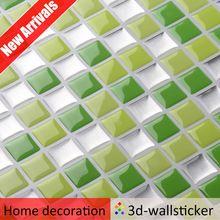 Buena calidad interior de pared de resina mosaico arte baldosas