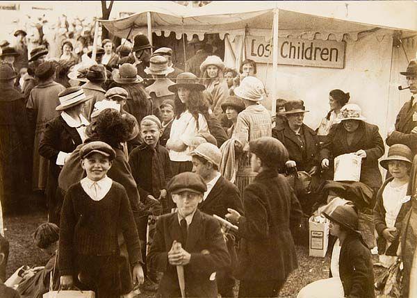 Lost Children Tent, CNE, 1923