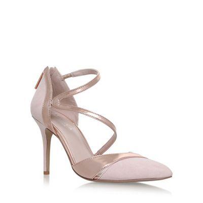 Carvela Natural 'Lunar' high heel sandals | Debenhams