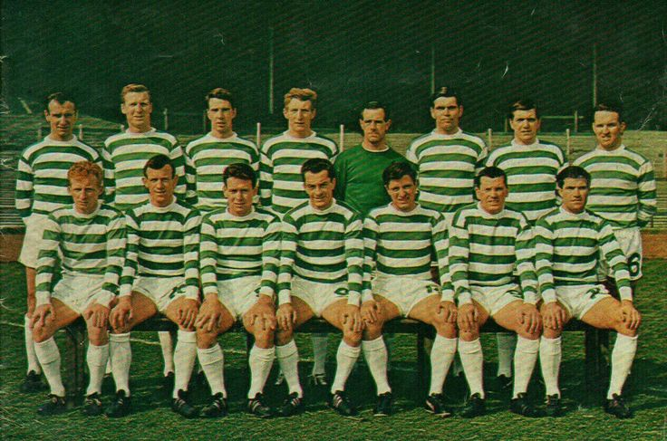 Celtic team group in 1967.