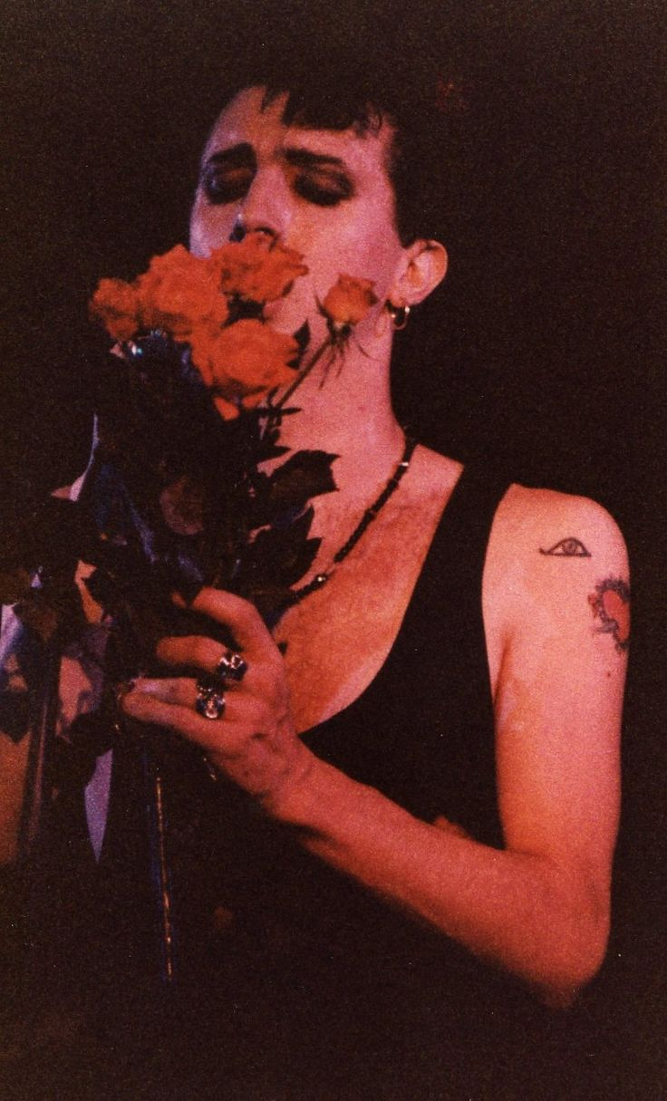 Marc Almond (aww, bless)