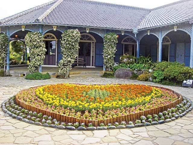 Glover House in the Glover Gardens in Nagasaki:グラバー園  ☆Thomas Blake glover is a merchant from Scotland.