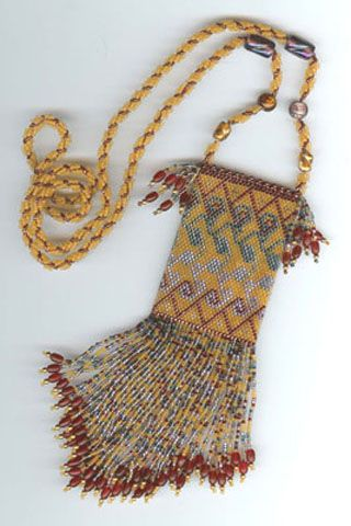 Beads Bedouin Purse