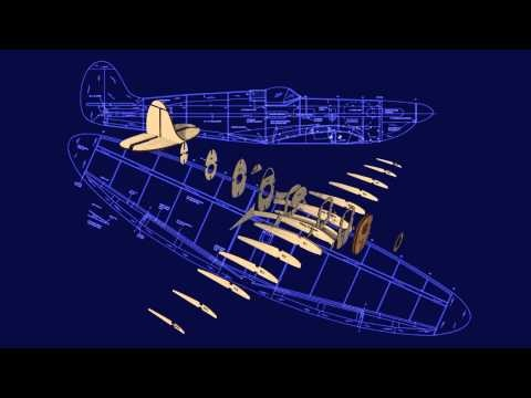RC Model Plan MW3201: Supermarine Spitfire IX - YouTube