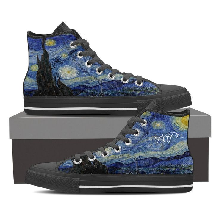 """Van Gogh-The Starry Night-Men's-""""You could find the start in a starry night"""""""