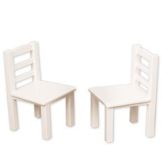 Chair Set: Inviting more friends to the party? Add to your set with these additional two chairs. The more the merrier!