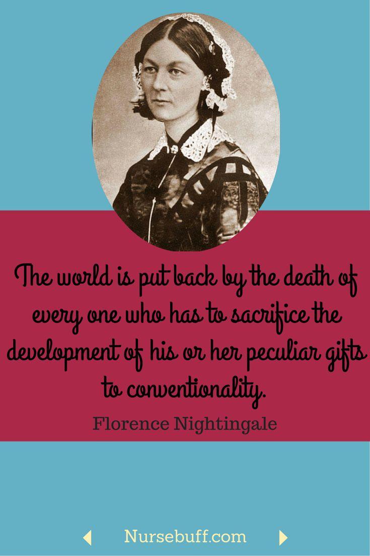 20 Greatest Florence Nightingale Quotes #Nursebuff #Nurse ...
