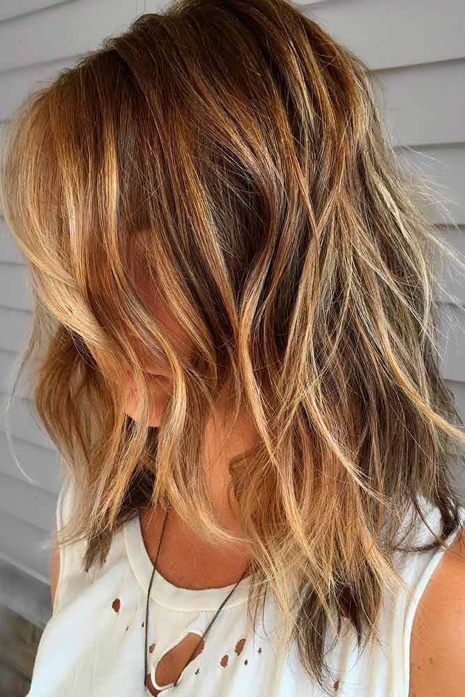 36 Shag Haircut Examples To Suit All Tastes Medium Hair Styles Medium Shag Haircuts Medium Length Hair Styles