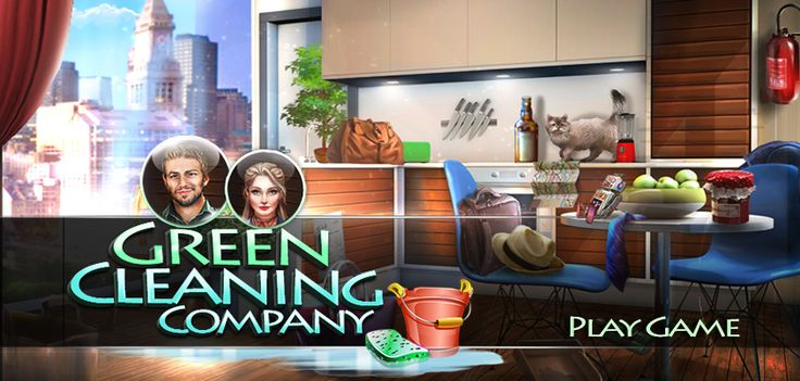 NEW FREE GAME just released! #hiddenobject #freegame #html5game #hiddenobjects Play 'Green Cleaning Company' here ➡ http://www.hidden4fun.com/hidden-object-games/4122/Green-Cleaning-Company.html