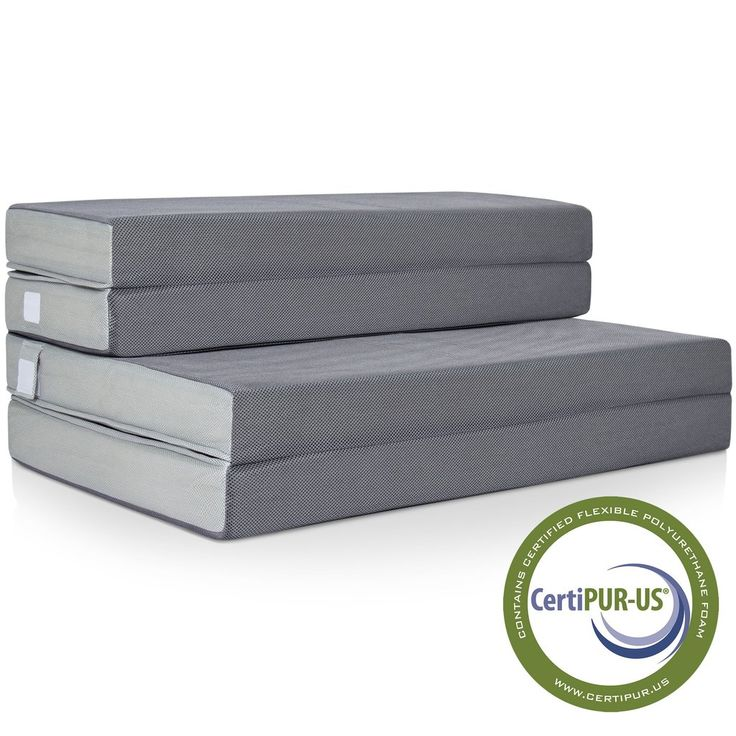 "Best Choice Products 4"" Folding Portable Mattress Twin"
