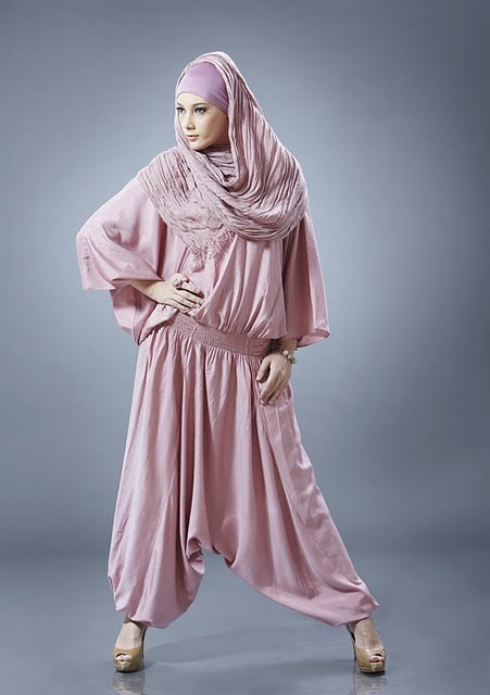 romantic rose hijab