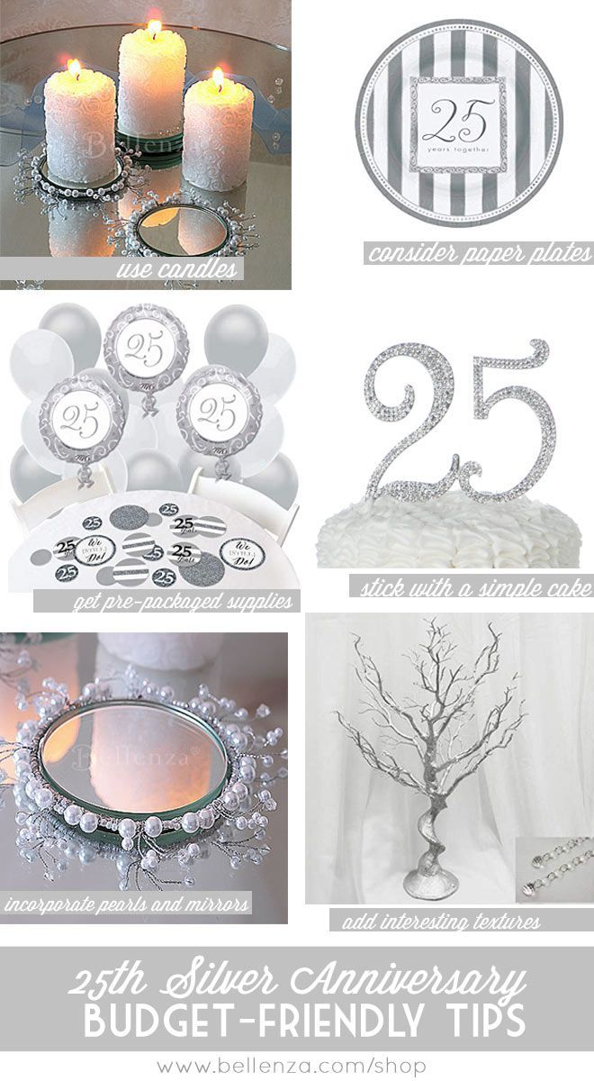 Silver Winter Wedding Anniversary Decor Silverweddings Silverweddingan Silver Wedding Anniversary Party Silver Anniversary Party 25th Anniversary Decorations