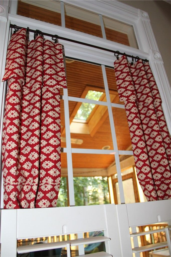 Diy Pillowcase Curtains: 239 best Curtains images on Pinterest   Kitchen curtains  Window    ,
