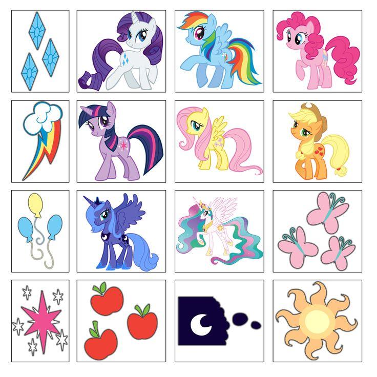 My Little Pony Friendship is Magic Stickers by moonprincessluna.deviantart.com on @deviantART