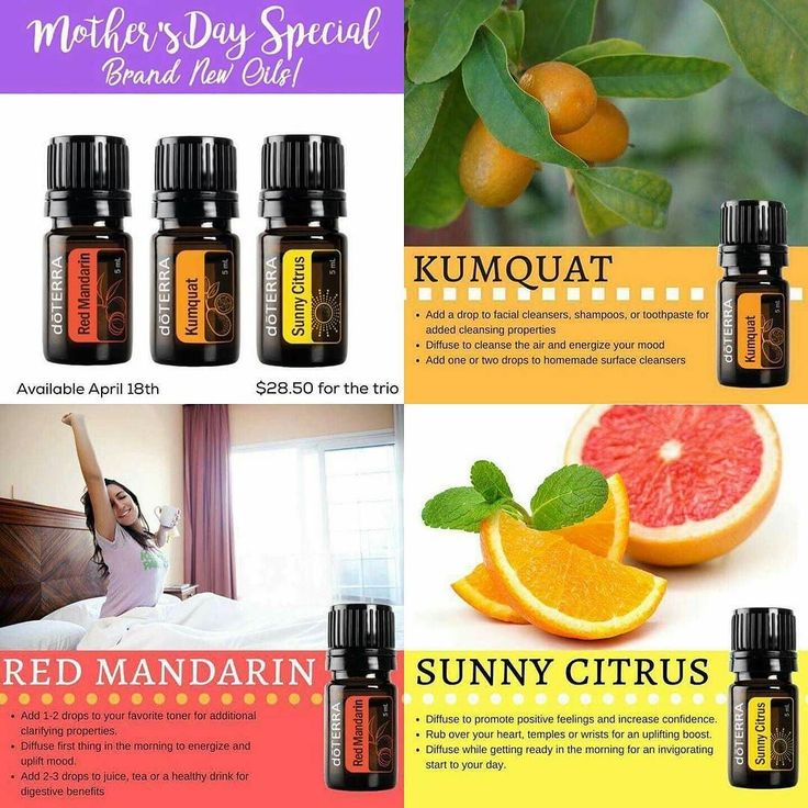 #oils4health Happy Mother's Day EARLY!! dōTERRA has released a trio kit of 3 NEW and very special oils that are available for purchase now!!!!   They are ONLY while supplies last!  For $28.50 wholesale you will receive Red Mandarin Sunny Citrus and Kumquat!  The only way you can get ANY of these oils is through this promo!! Because of that (and the fact that no other essential oil company carries Kumquat or Sunny Citrus) they WILL sell out quickly! http://ift.tt/1DTqvrw to order ASAP