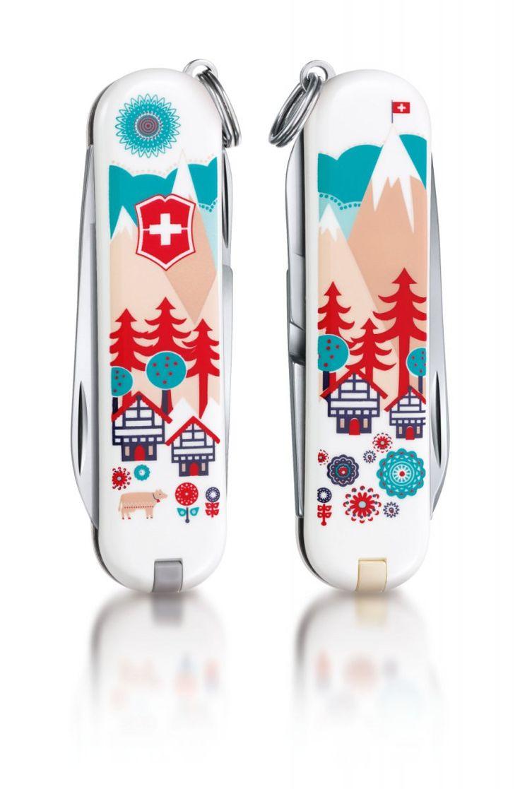 Scyzoryk Victorinox Classic Swiss Village 0.6223.L1510 - Classic limitowane - SCYZORYKI SWISS ARMY