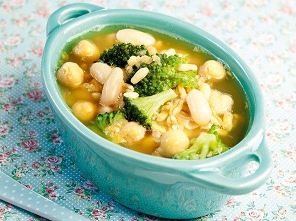 Zuppa di legumi 12 mesi