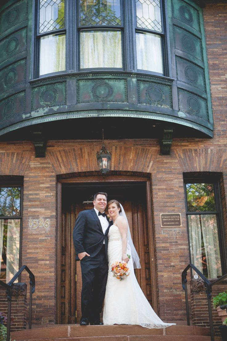 Elegant Black Tie Wedding Reception At The Whittemore House In Washington DC I United With Love