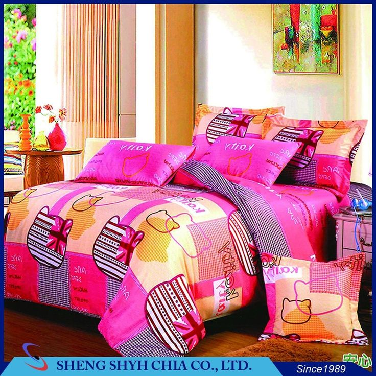2017 good quality cheap digital printed new design bed sheet set