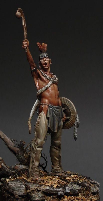 Guerreiro pawnee (Pawnee Warrior)