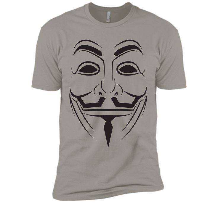 v vendetta mask T-Shirt